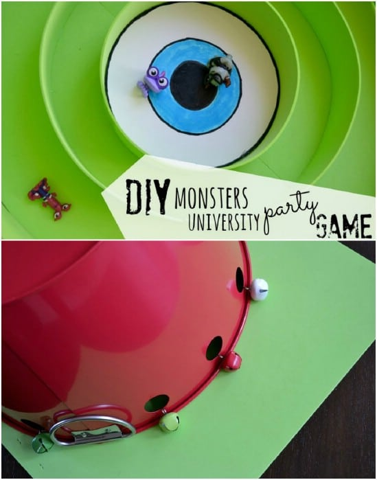 Easy DIY Monsters University Game