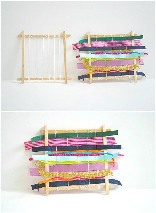 DIY Weaving Loom