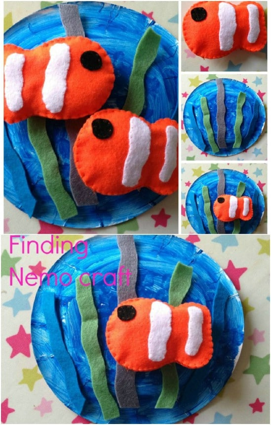 Easy DIY Finding Nemo Craft