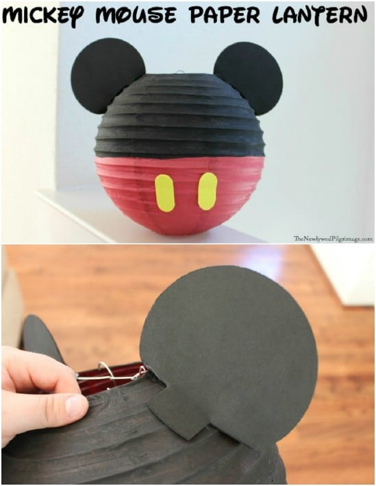 DIY Mickey Paper Lanterns