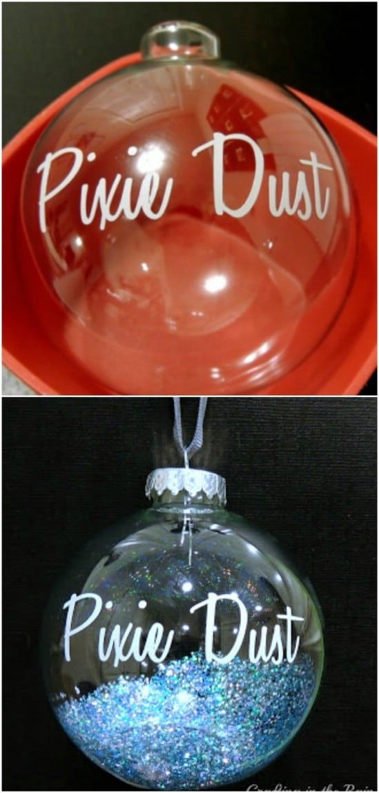 DIY Pixie Dust Ornament