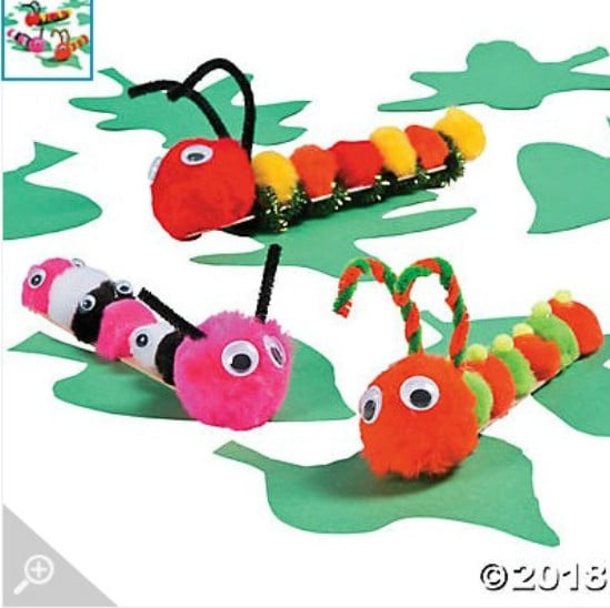 Craft Stick Caterpillars
