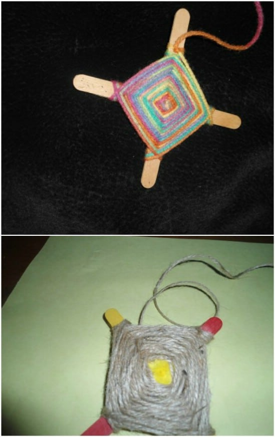 Summer Craft – Popsicle God's Eye