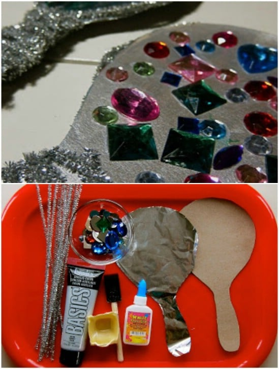 DIY Beauty And The Beast Mirror