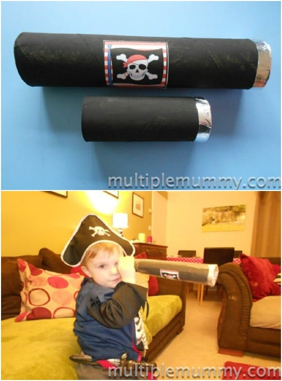 DIY Disney Pirate Telescope