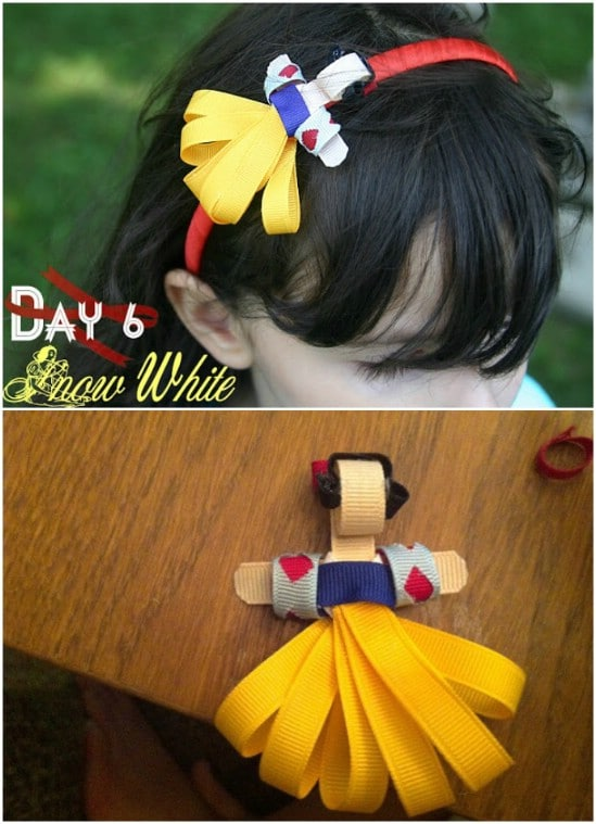 DIY Snow White Headband