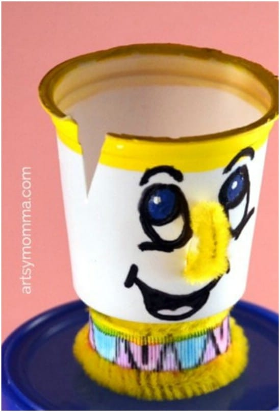 Upcycled K Cup Chip Toy