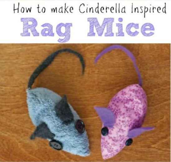 DIY Cinderella Inspired Rag Mice