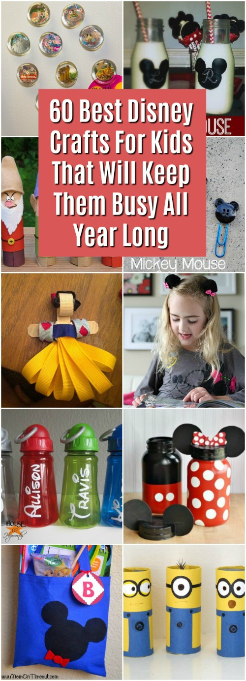 60 Best Disney Crafts For Kids That Will Keep Them Busy All Year