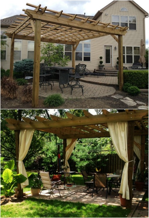 20 DIY Pergolas With Free Plans That You Can Make This Weekend - DIY ...