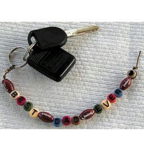 Customized Best Dad Keychain