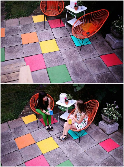 Easy DIY Patio Makeover