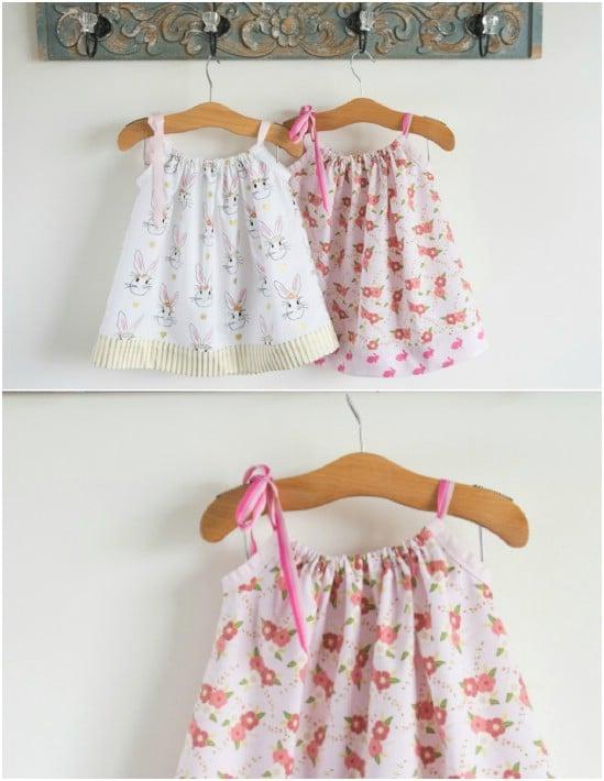 Adorable DIY Pillowcase Dress