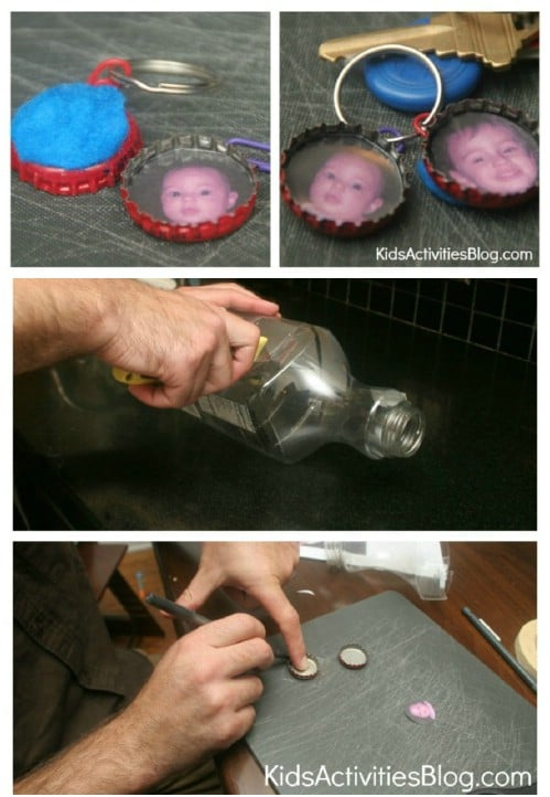 Easy To Make Photo Key Ring