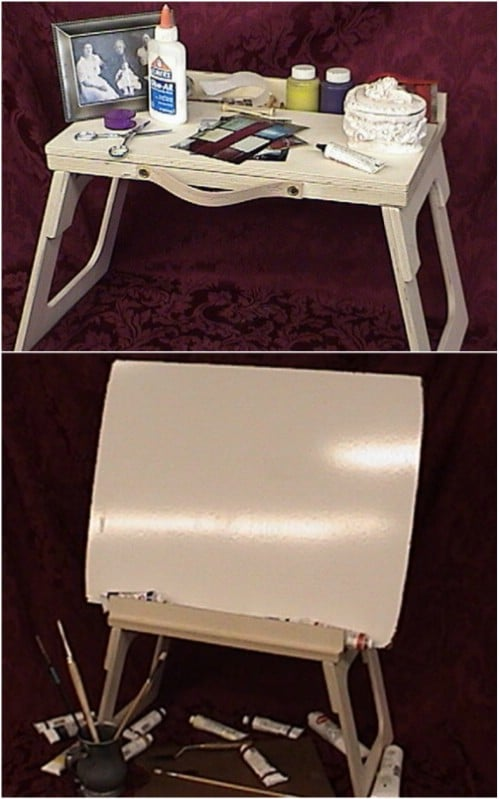 Portable Bed Craft Desk