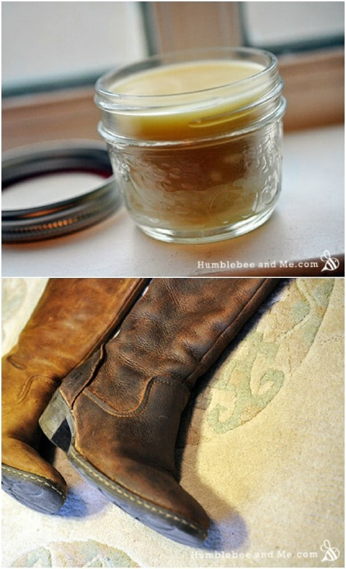 Homemade Leather Balm For Him