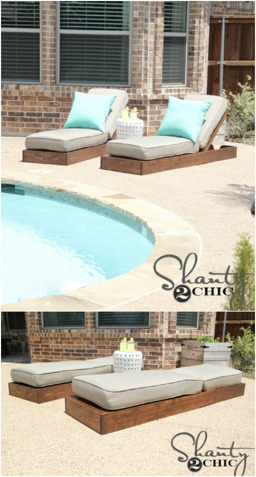 DIY Deck Loungers