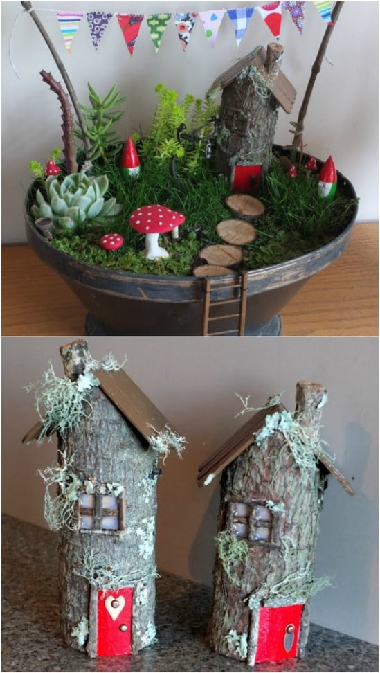 DIY Fairy Tree Houses