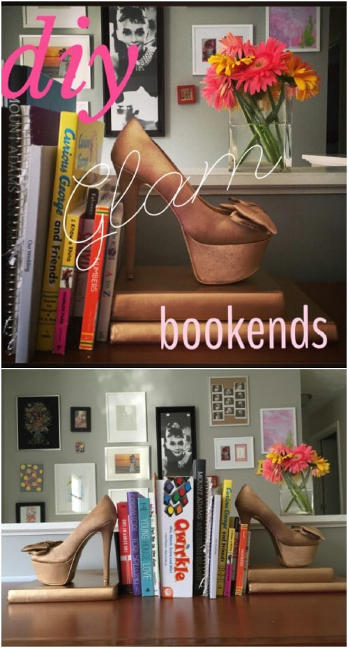 Glamorous DIY Bookends