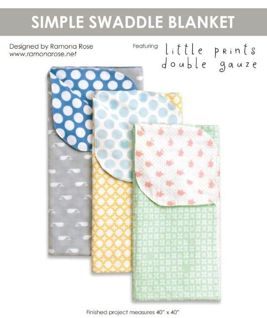 Lightweight DIY Swaddle Blanket