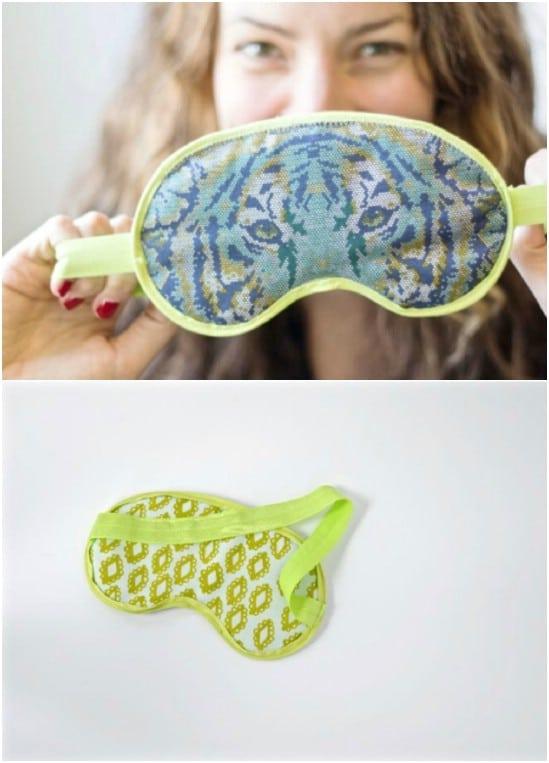Hand Sewn Summer Sleep Mask