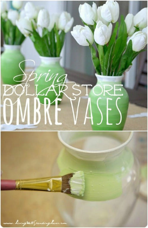 Summer Floral Home Decor: 15 DIY Vase Ideas (Part 1)