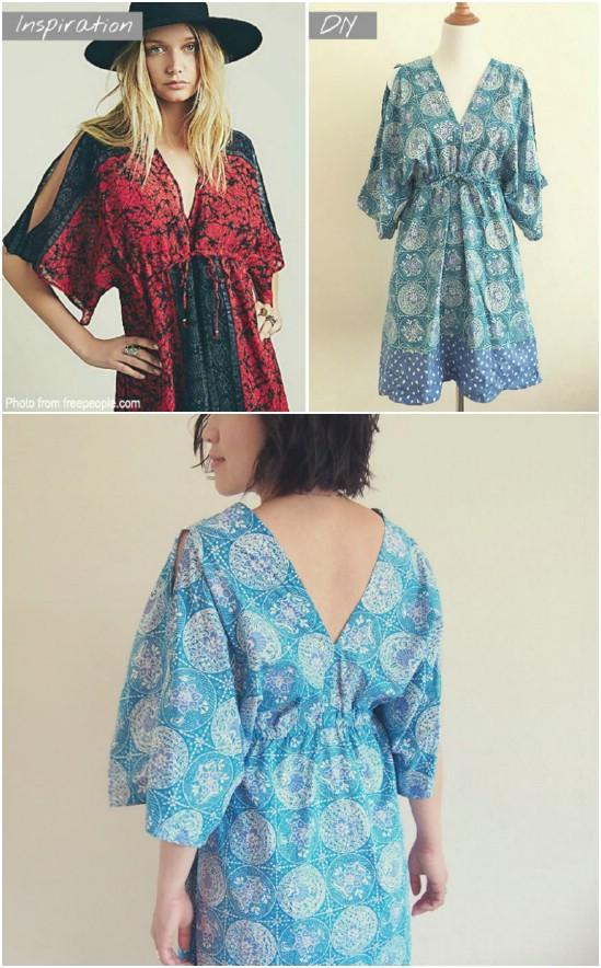 DIY Free People Inspired Boho Dress