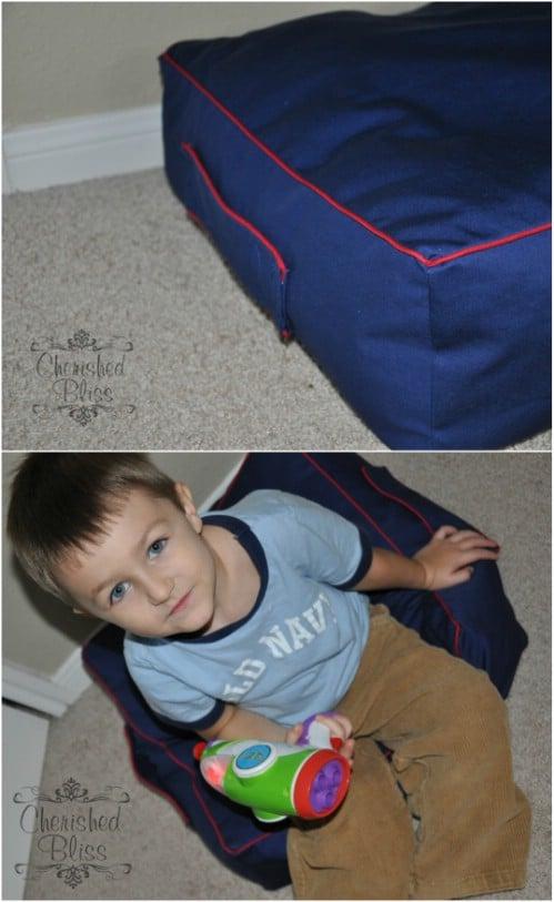 DIY Kids' Floor Cushion