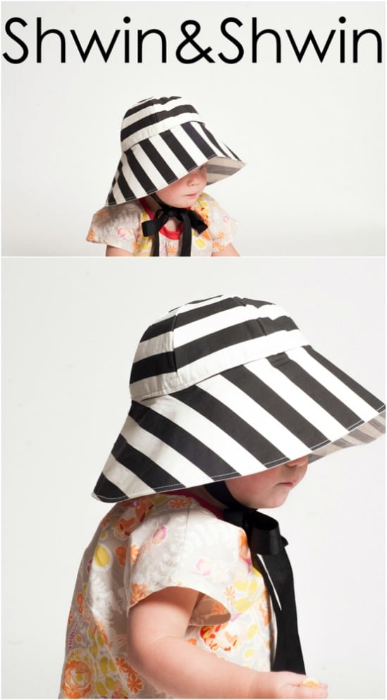 Adorable DIY Child's Sun Hat