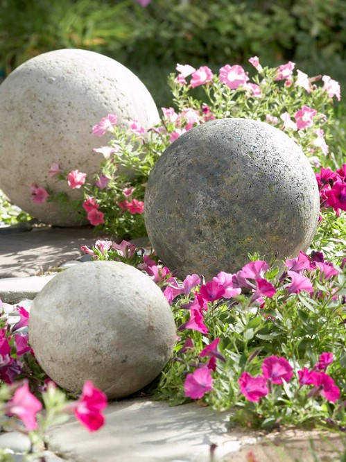 Simple DIY Concrete Spheres