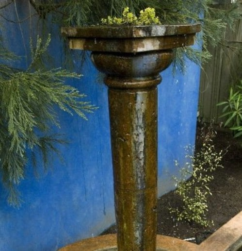 DIY Concrete Garden Columns