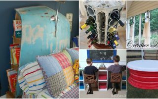 10 Imaginative Ways To Repurpose Old Car Parts Into Amazing Home Décor