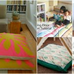 22 Easy DIY Giant Floor Pillows and Cushions That Are Fun And Relaxing