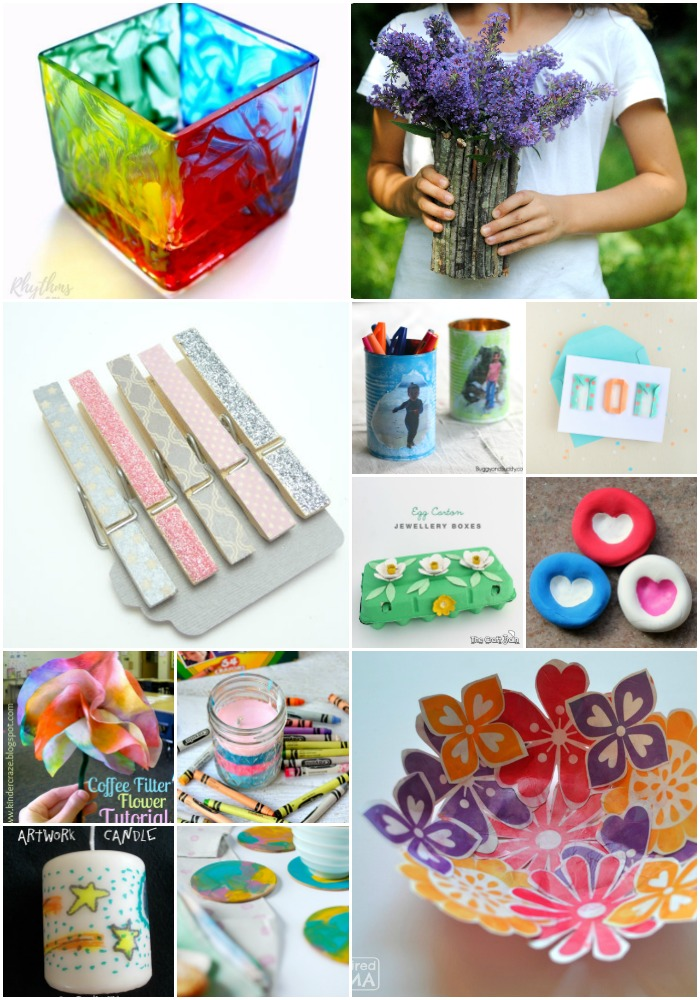 Kids Love Doing Special Things For Mom And Dad These Projects Are So Easy That They Can Do Most Of Them All By Themselves
