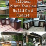how to build an outdoor kitchen plans related content 15 amazing diy outdoor kitchen plans you can build on budget