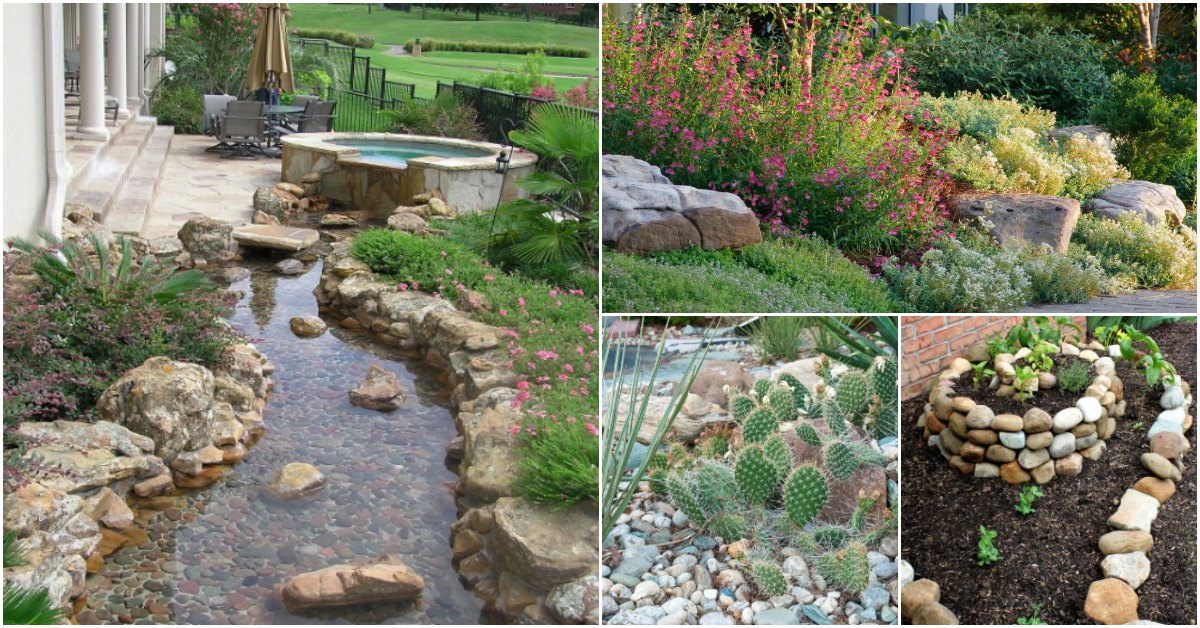 10 Gorgeous And Easy DIY Rock Gardens That Bring Style To ...