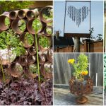 11 Rustic Rusty Metal DIY Ideas For Your Lawn And Garden