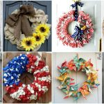 25 Gorgeous DIY Summer Wreaths You Can Make With Dollar Store Supplies