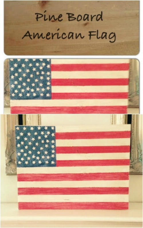 20 Diy Rustic Wood Fourth Of July Decor Ideas To Show Your