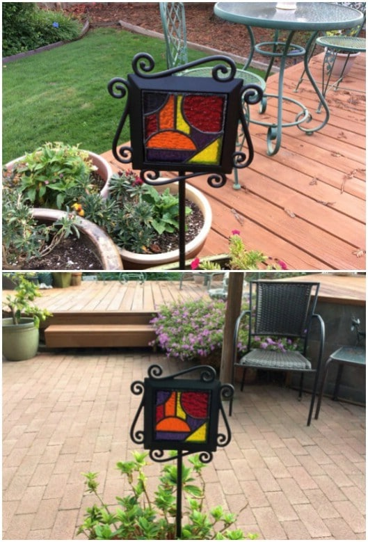 Amazing DIY Outdoor Stained Glass Projects