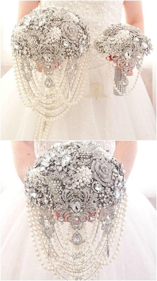 Luxury Pearl Bouquet
