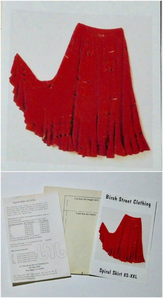 Vintage Boho Skirt