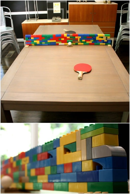 Creative DIY Ping Pong Net