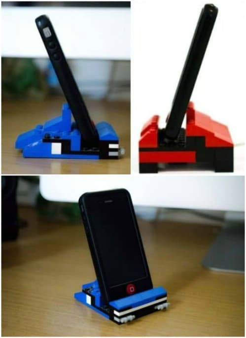 Awesome Repurposed Lego Phone Holder