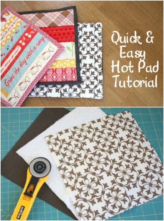 Super Easy DIY Hot Pads