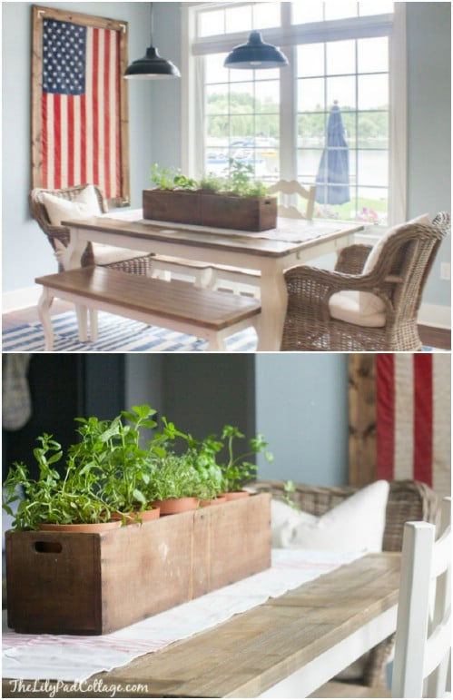 16 Diy Rustic Wooden Fourth Of July Decor Ideas