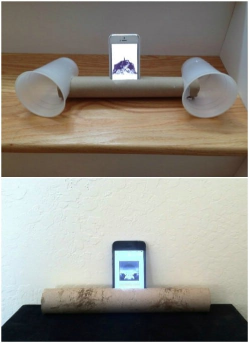 DIY Portable iPhone Speaker System
