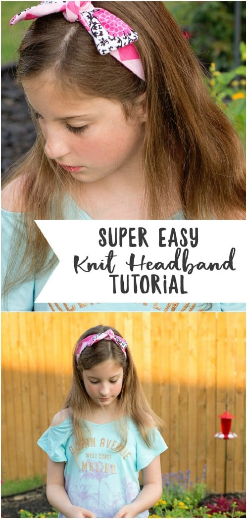 Simple DIY Reversible Headband