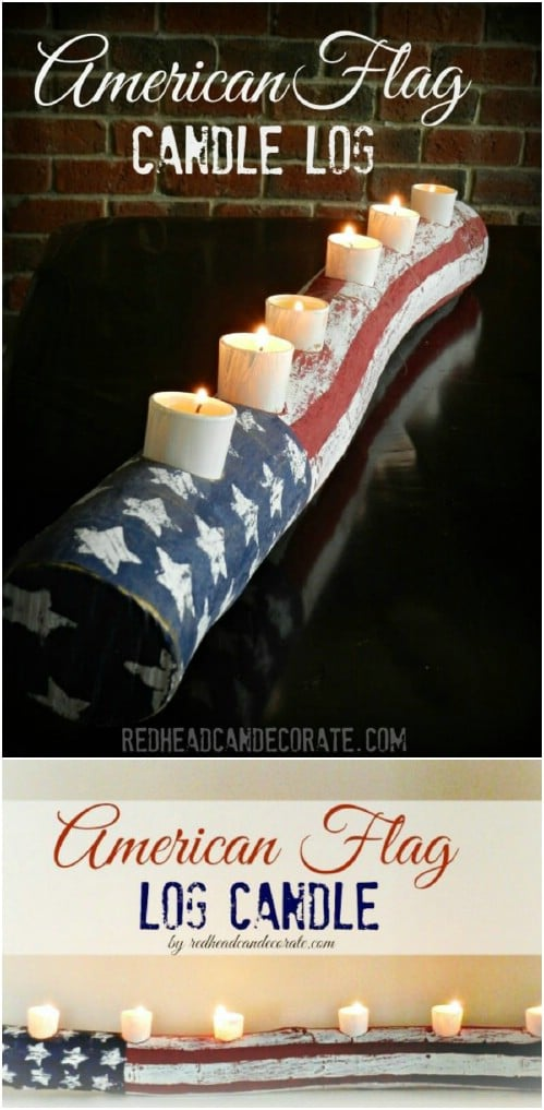 16 Diy Rustic Wooden Fourth Of July Decor Ideas Style Motivation