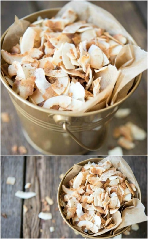 Yummy Toasted Coconut Chips